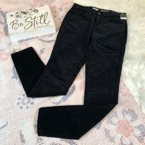 Mossimo High Rise Skinny Velvet Jeans, Size 00/24